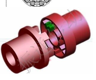 H型弹性块联轴器