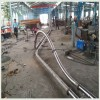 拐弯式盘片推动管链提升机耐高温环型管链机