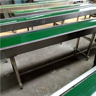 304不锈钢方管PVC皮带机4