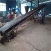 潮阳市0.5米带宽槽钢主架散料装车裙边格挡输送机LJ8